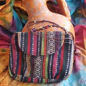 Selling style in a Bohemian fashion small bag